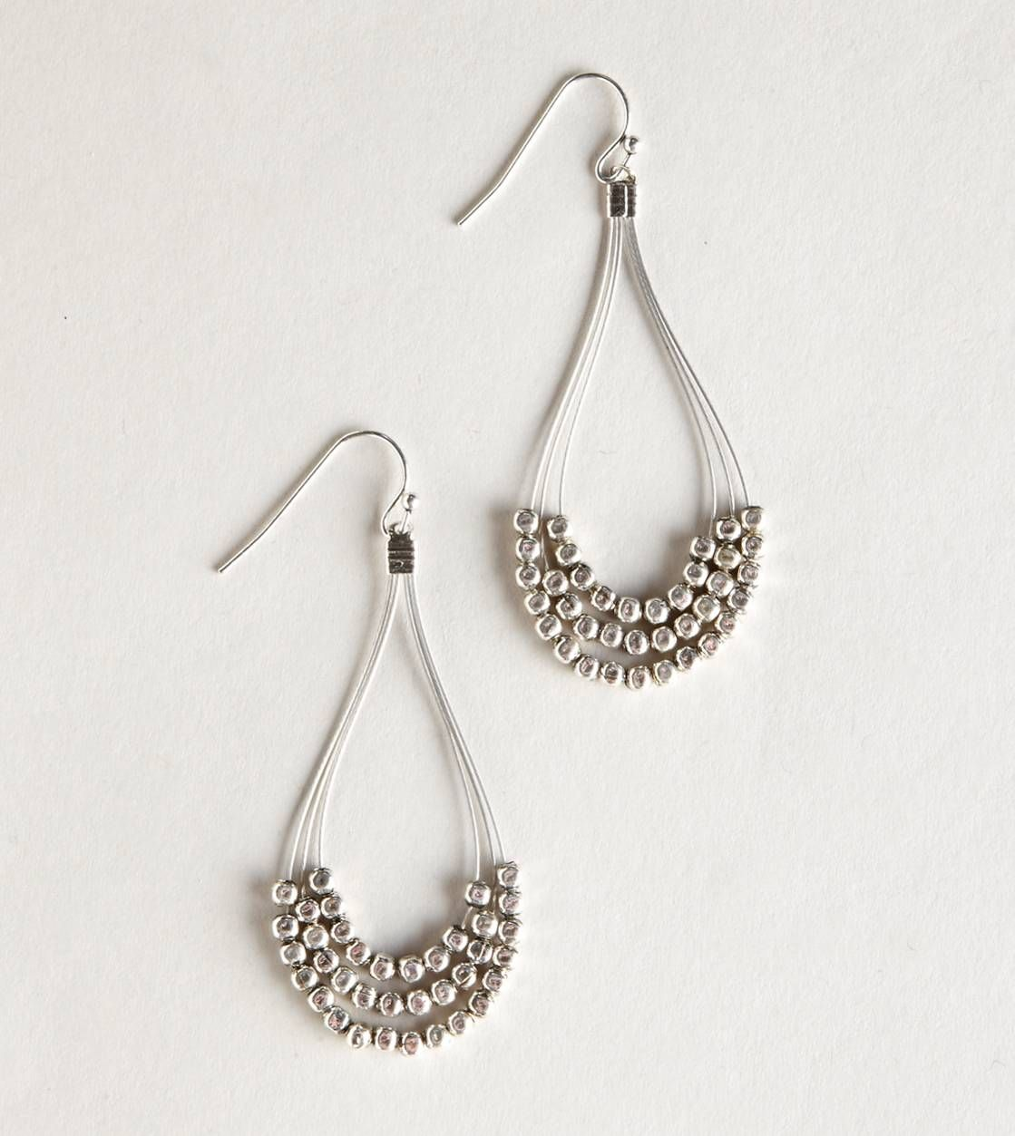 Silver Wire! or Colored Wire! | I\'m All Earrings | Pinterest | Beads ...