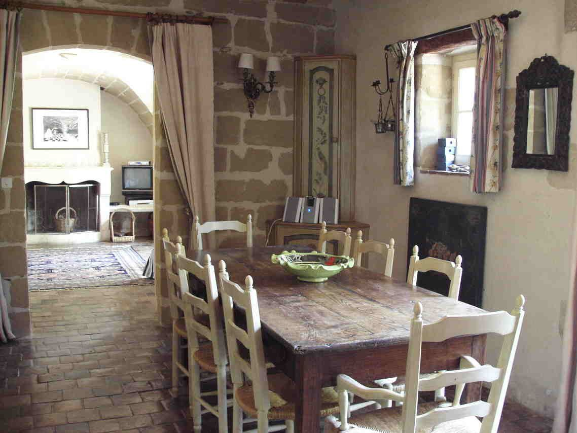 French Farmhouse Kitchen Table Love Everything But The Tv Old Kitchens