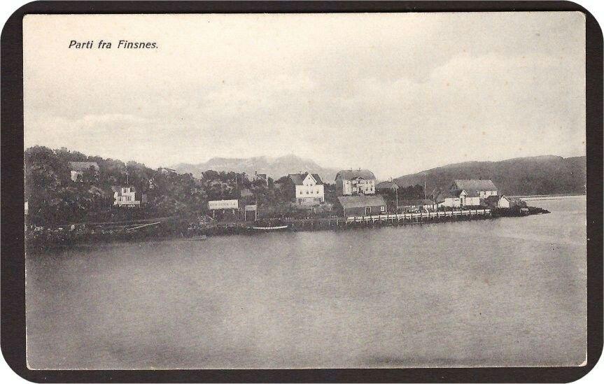 Finsnes i Troms fylke Brukt 1927.