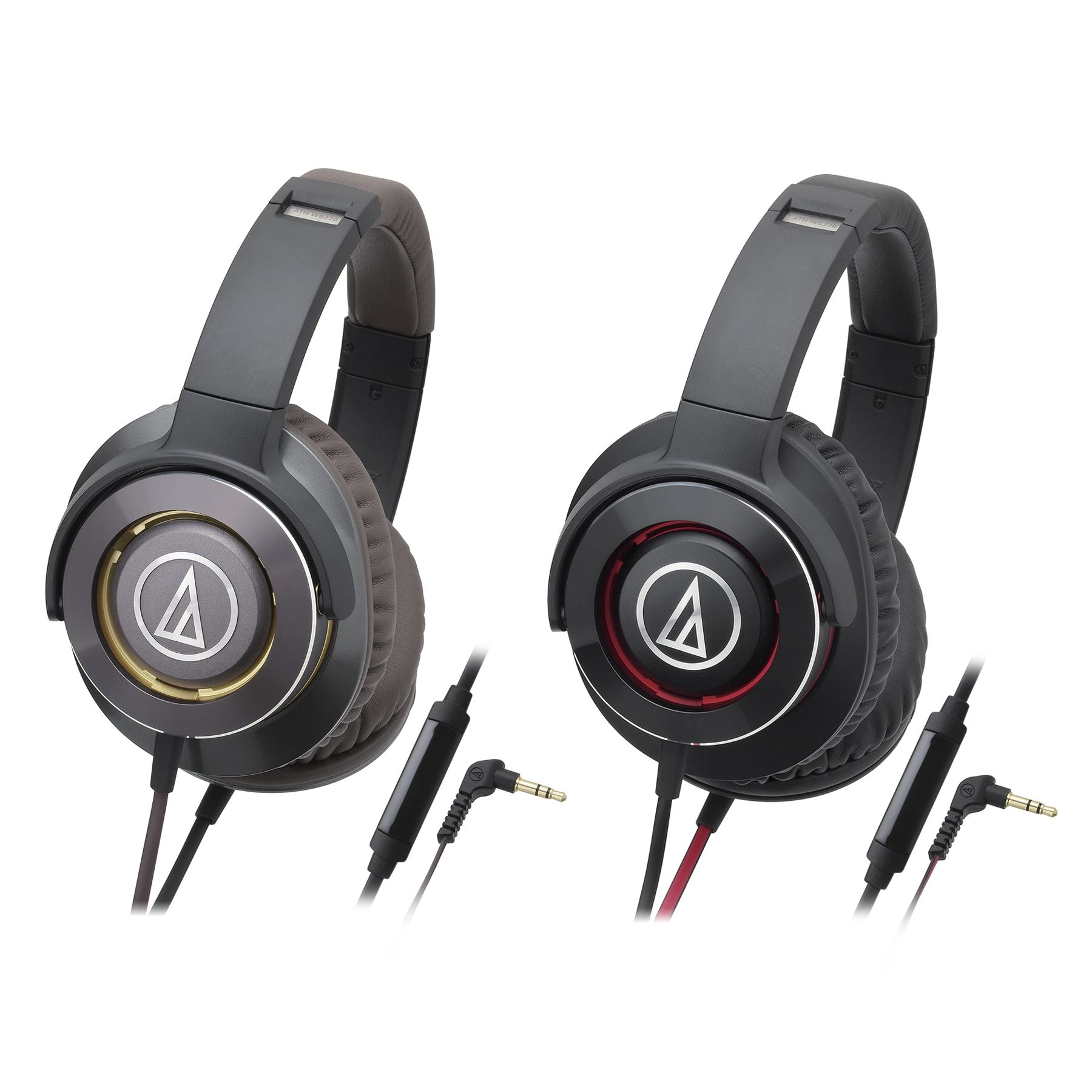 Audio Technica Solid Bass Professional Headphone Ath Ws770is Hitam Ws990bt Red Hi Res Bluetooth Genuine New Over Ear Headphones With Mic
