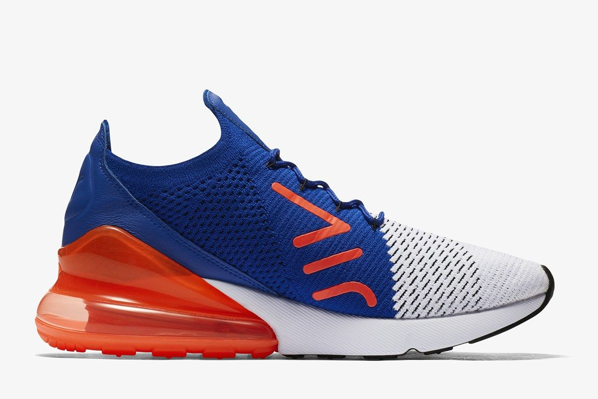 Nike Sportswear debuted the Air Max 270 in a mesh and textile build. The  next step in the silhouette design journey is a Flyknit edition. 5bc6e1411