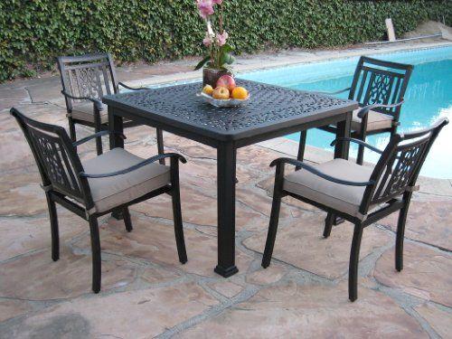 Cbm Heaven Collection Outdoor Cast Aluminum Patio 400 x 300