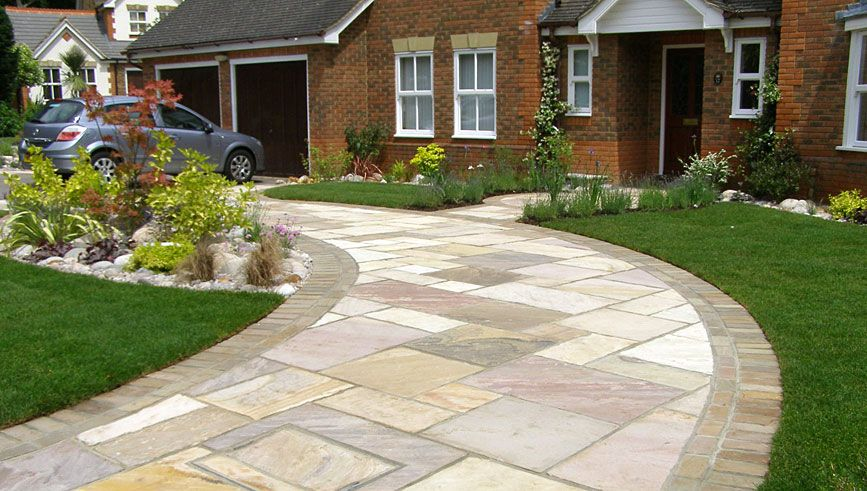 Design Front Driveway Design Ideas Inspiring Garden and
