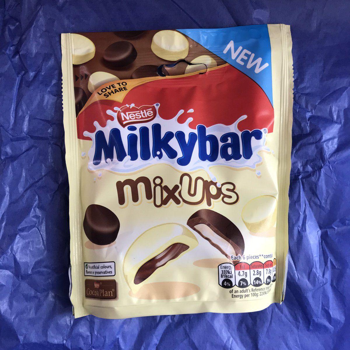 New Nestle Milkybar Mix Up (uk only) Snacks, Snack