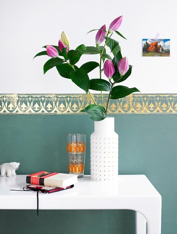 Flur u2013 die besten Tipps zum Einrichten Den unteren Wandbereich - schlafzimmer farben ideen mehr weite