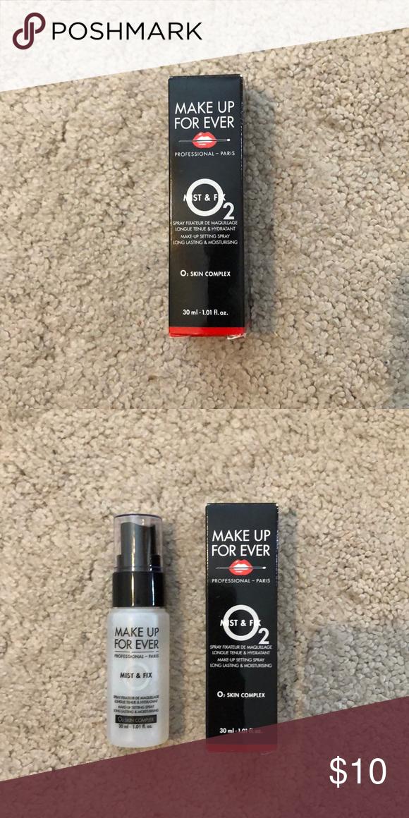 Make Up Forever mist and fix setting spray Brand new