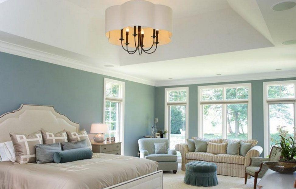 Camere Da Letto Blu : Interni moderni e confortevoli camere da letto u foto stock