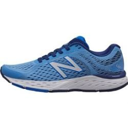 Photo of New Balance Women's W680 V6 Neutral Running Shoes Light Blue New Balance