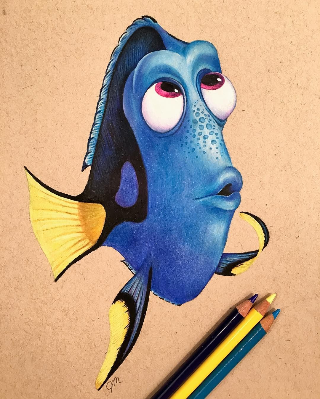 Pencil Drawing Images Cartoons: Excellent Color Pencil Drawings By Julianna Maston