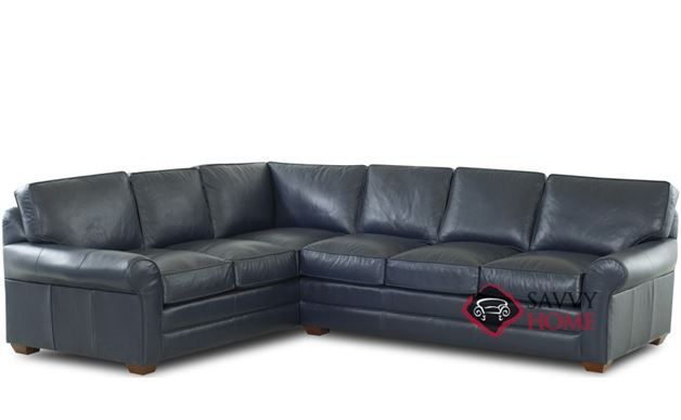 Montreal Leather True Sectional by Savvy Leather sectionals and Modern