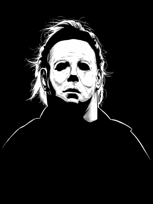 Kinda artsy | Michael myers, Michael myers halloween ...