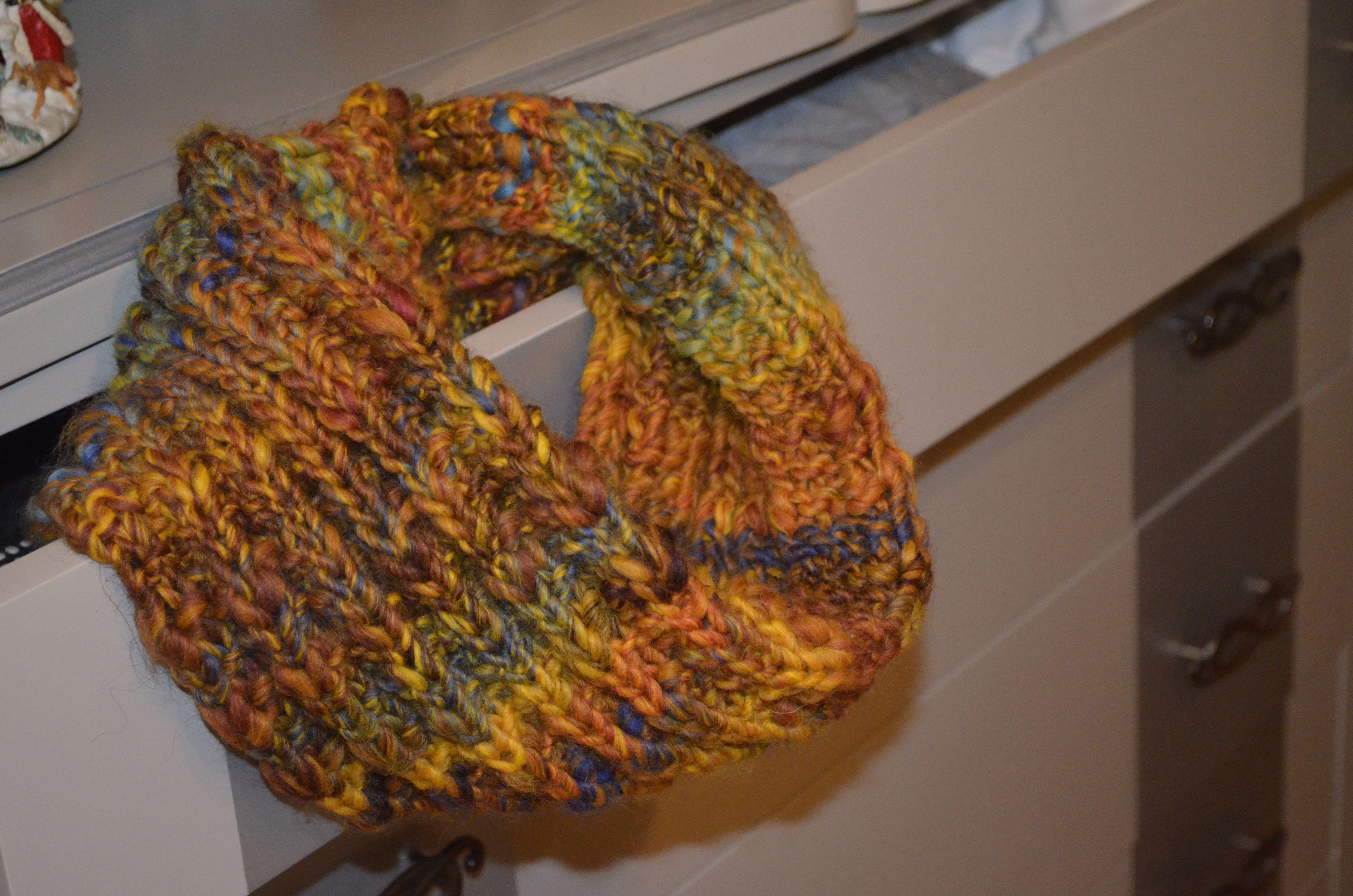 Cuello en lana Tejido por Entre Lanas y Agujas