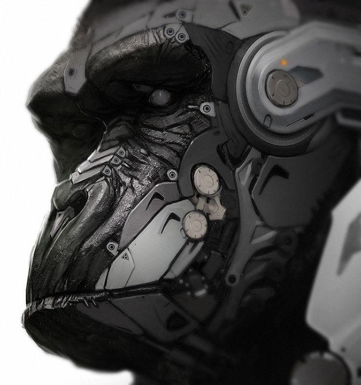 robo monkey | Posthuman, Cyborg & Robot (humanoid) | Robot
