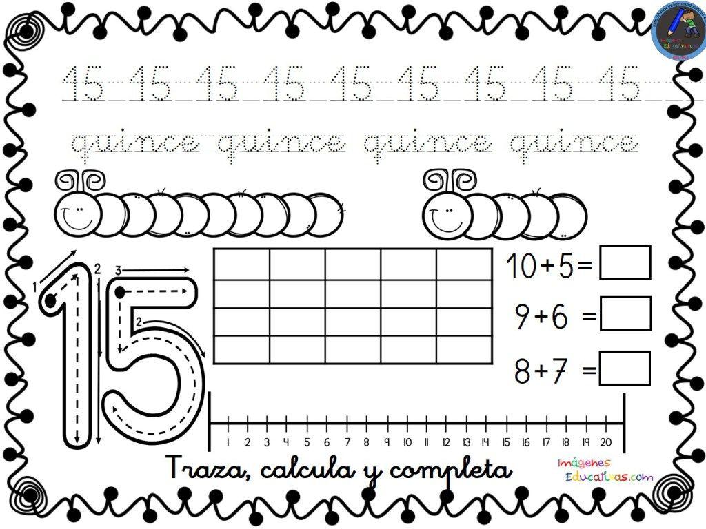 Coleccion De Fichas Para Trabajar Los Numeros Del 1 Al 30