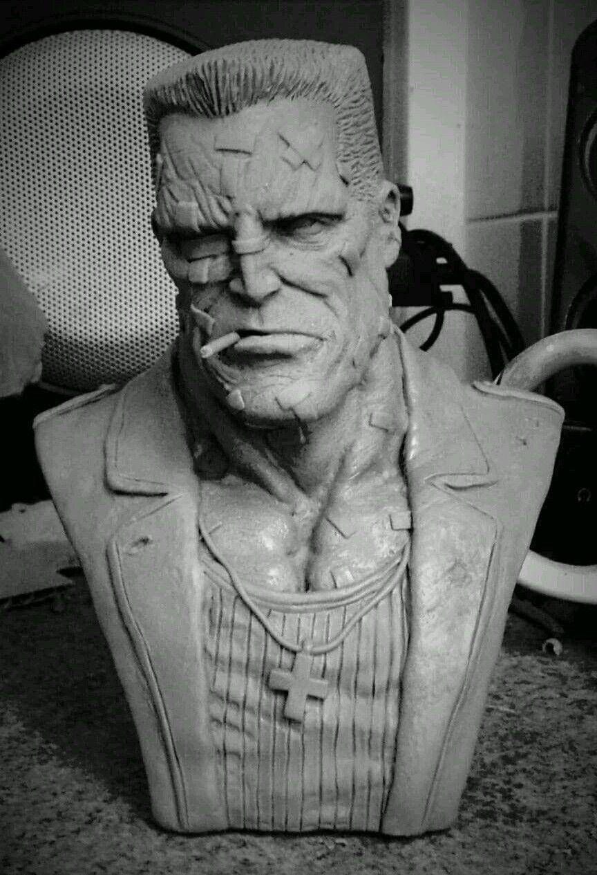 Bust Resin Model Marv Kit StatueEbay Sin City hQxdtrCs