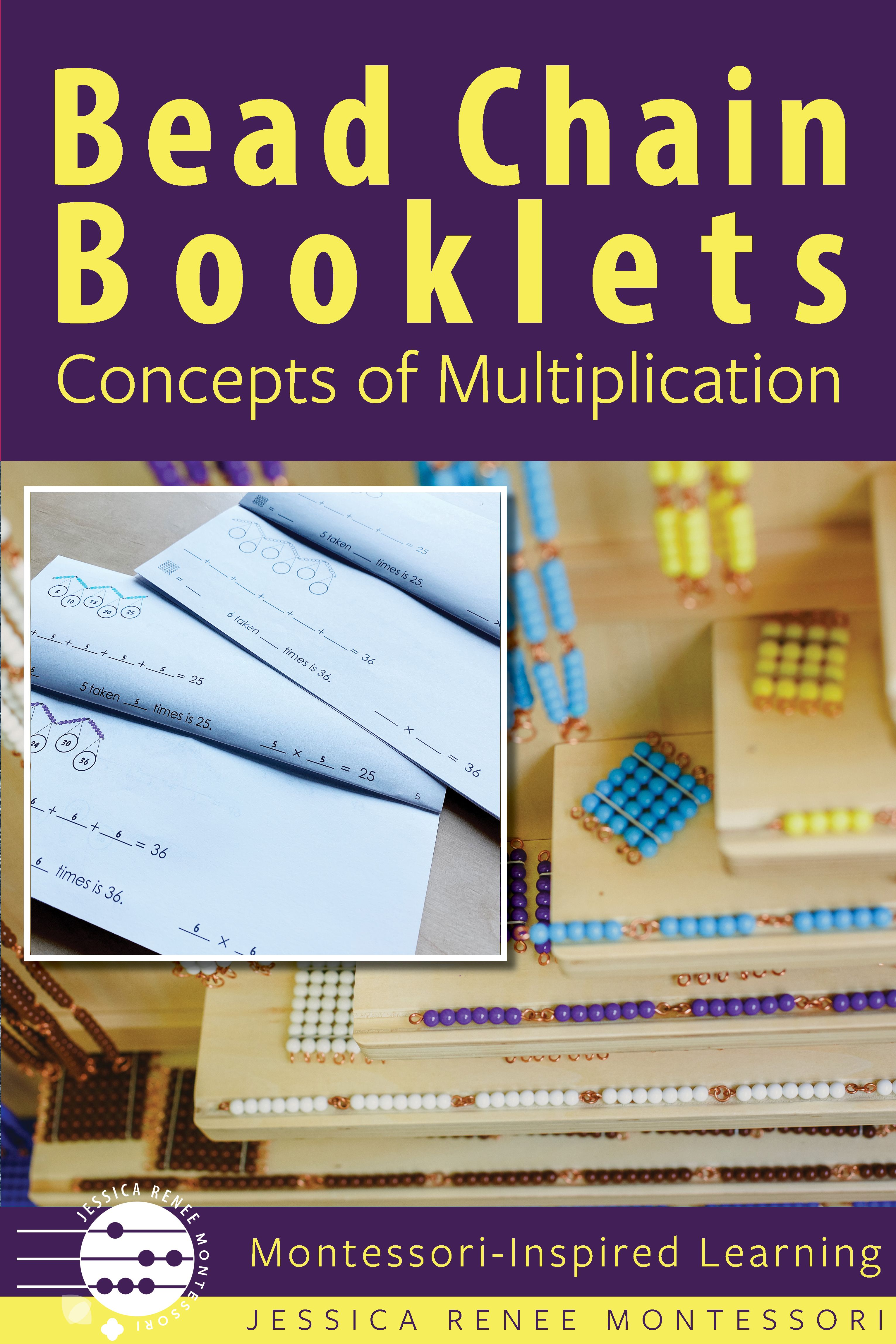 Montessori Multiplication With Repeated Addition Booklet