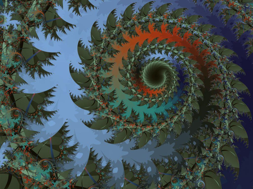 Fractal ammonite