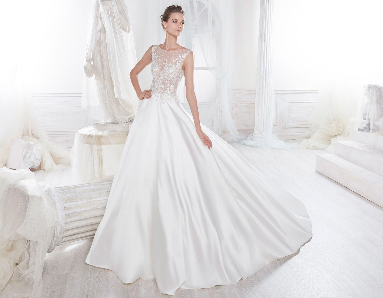 Moda sposa 2018 - Collezione NICOLE. NIAB18028. Abito da sposa ...