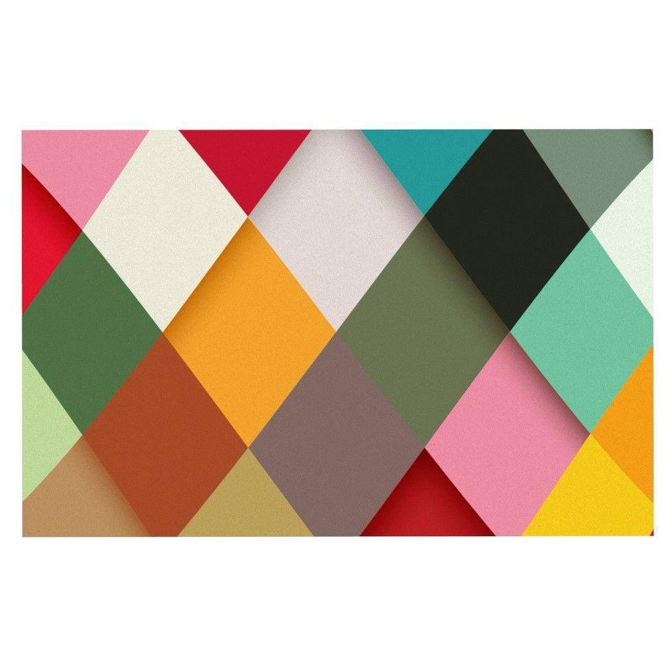 """Danny Ivan """"Colorful"""" Decorative Door Mat"""
