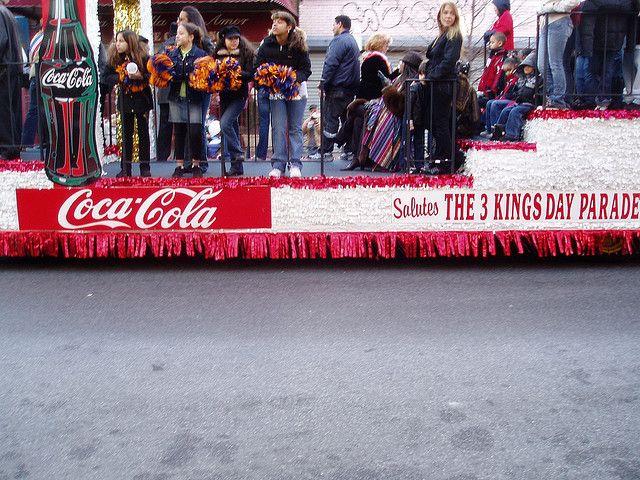 Coca Cola Salutes The Three Kings Day Parade by sarahscamera5, via Flickr