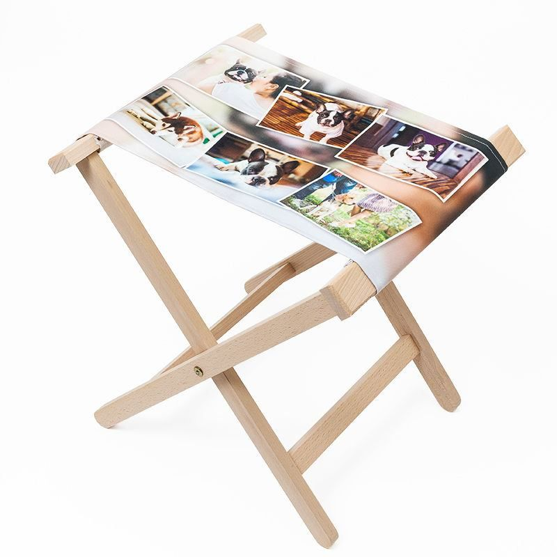 Terrific Folding Canvas Chair Personalised Folding Stools Uk Creativecarmelina Interior Chair Design Creativecarmelinacom