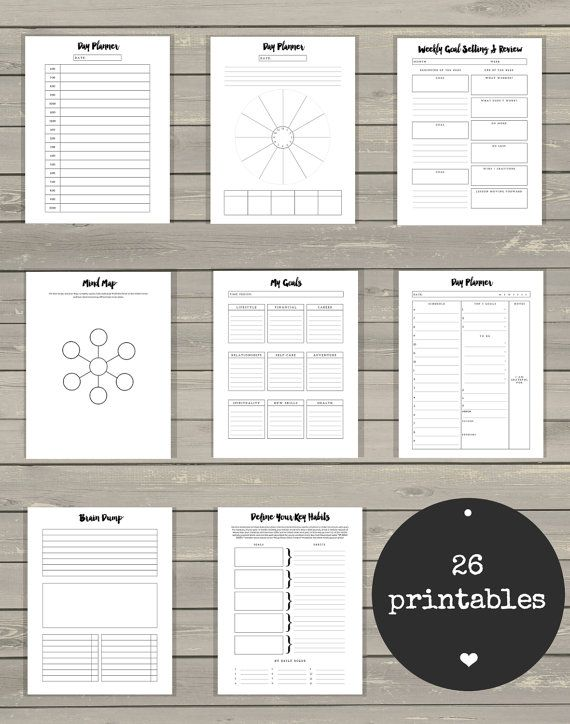 Ultimate Life Binder™ - Minimalist Edition, A4, A5, US Letter #examplesofgoals