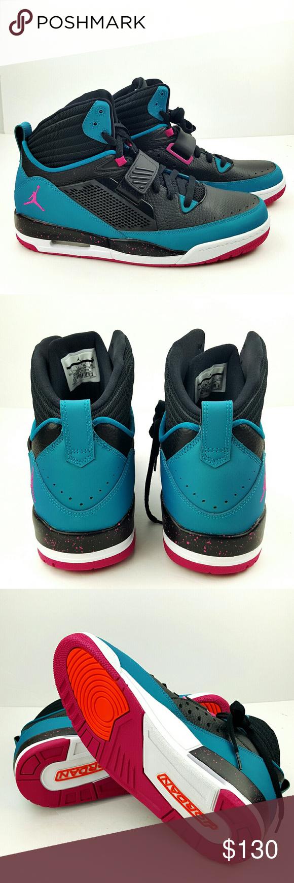 9e854b8f173e Air Jordan Flight 97 Basketball shoes size 12 Jordan Flight 97 Old School  High Top in black and teal. Brand new in original box . Size men s 12 Jordan  Shoes ...