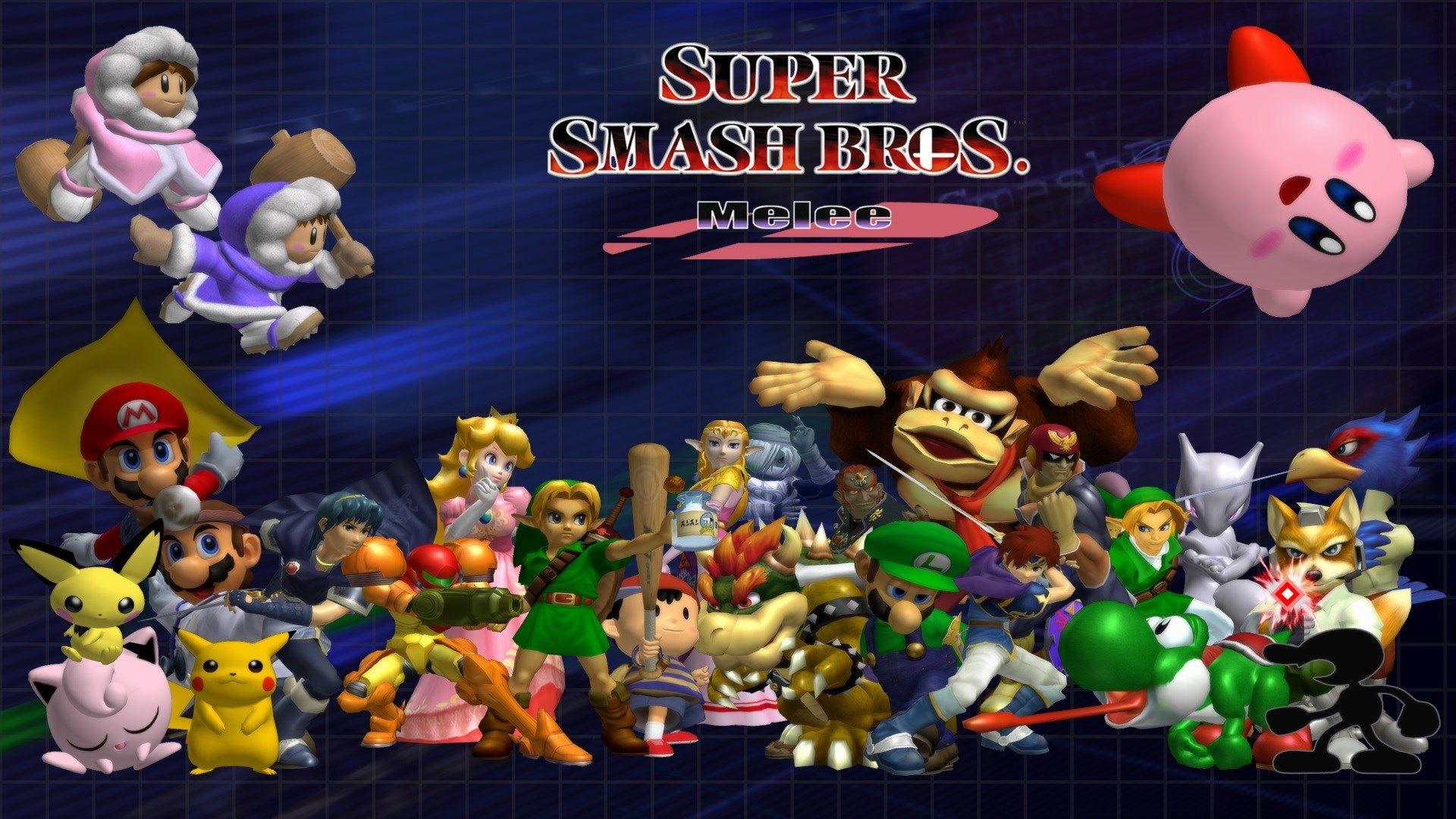 1920x1080 Free Desktop Backgrounds For Super Smash Bros Super