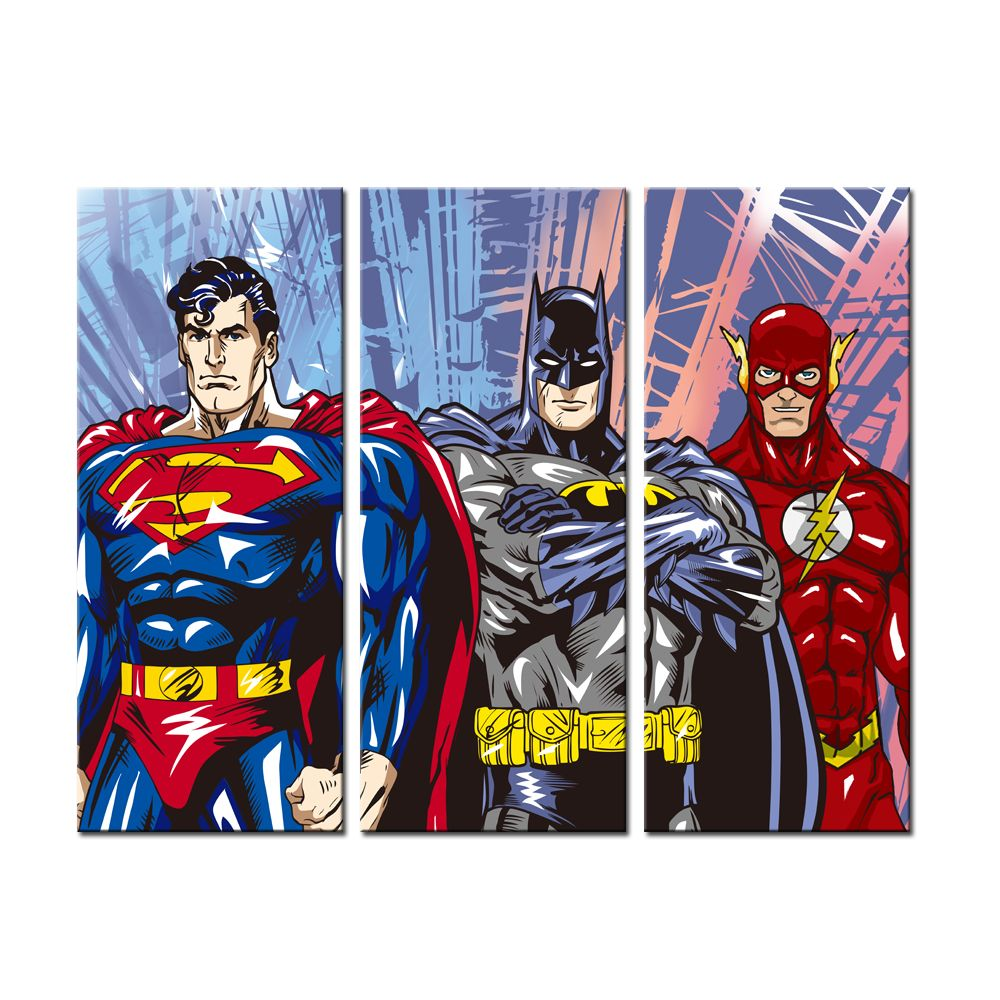 Apartment In Art Piece: 3 Piece DC Canvas Art Set Price: 22.00 & FREE Shipping