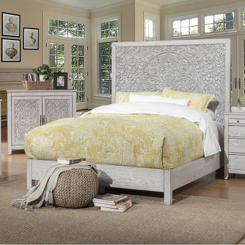 Orellana Standard Bed & Reviews Joss & Main (With images