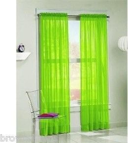 Wow Thats Some Lime Green Curtains