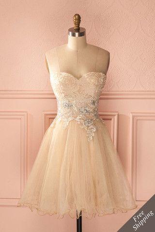 dame d 39 honneur bridesmaid robes dresses dress robes et bustier dress. Black Bedroom Furniture Sets. Home Design Ideas