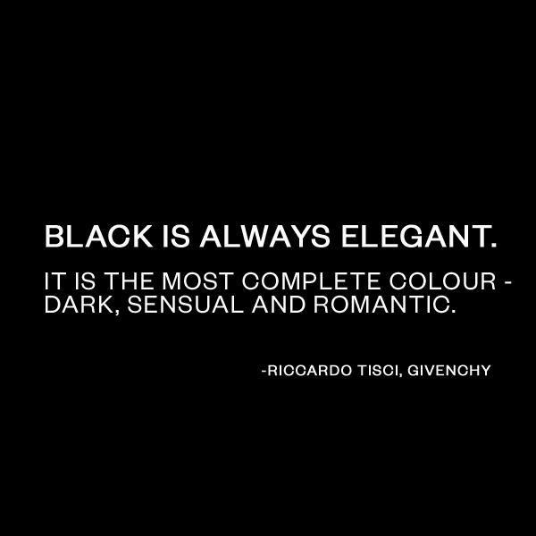 Imagini pentru black is elegant quotes