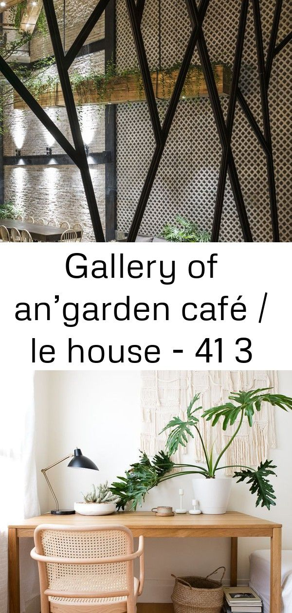 Gallery of angarden café  le house  41 3 Gallery of Angarden Café  Le House  41 Petit appartement minimaliste  Blog Déco  Clem Around The Corner insp...