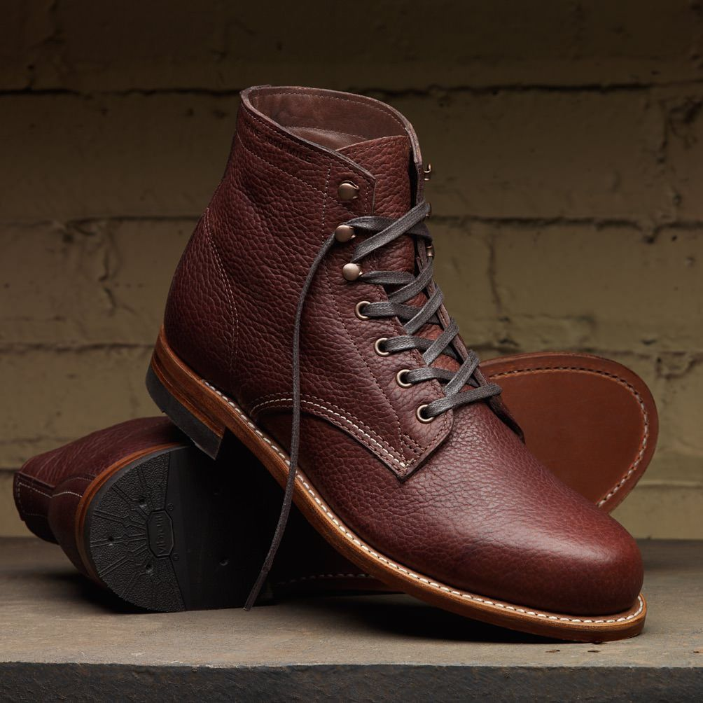 Boots Men Wolverine 1000 Mile Centennial Boot Brown To Buy