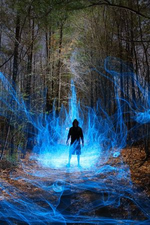 Oh Snap!: Paranormal Light-Painting Activity