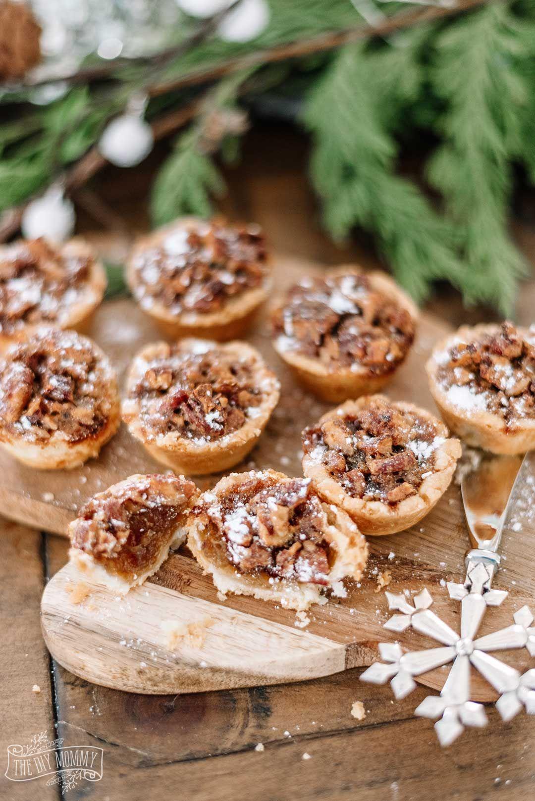Maple pecan tassies recipe with images maple pecan