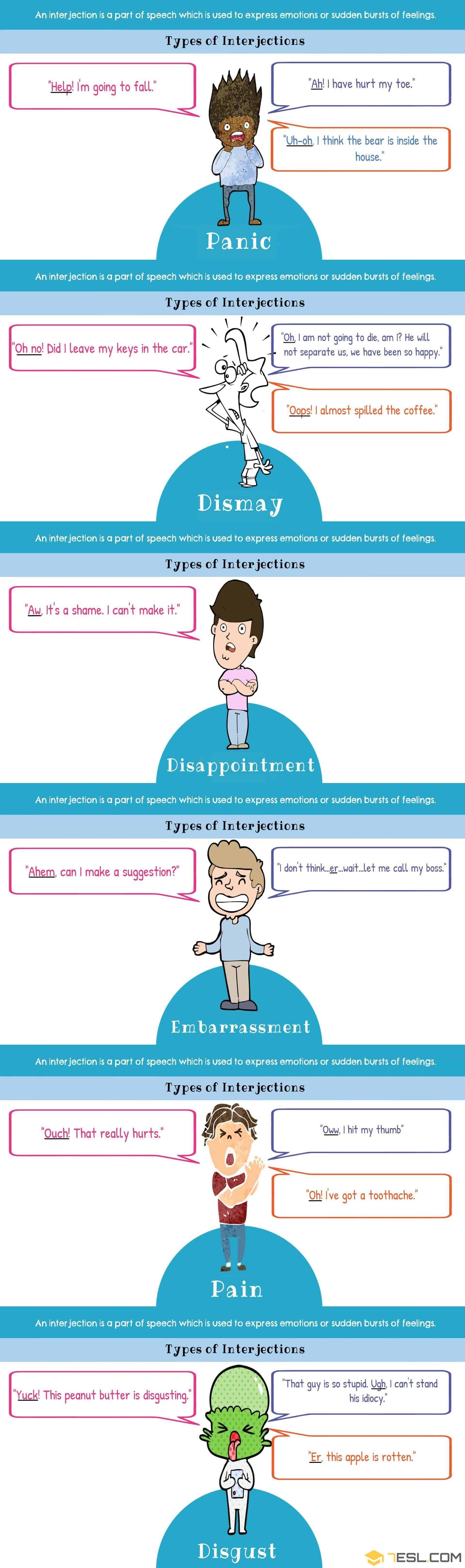List Of 60+ Interjections With Definition & Useful