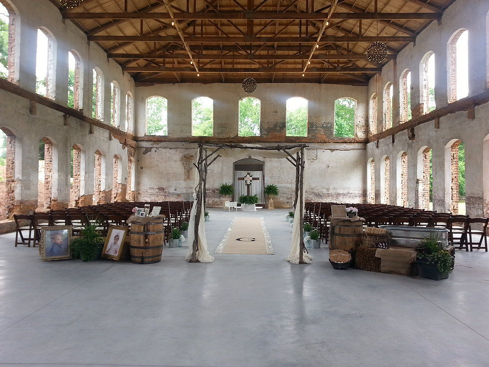 The Providence Cotton Mill Wedding Venue in Maiden, North ...