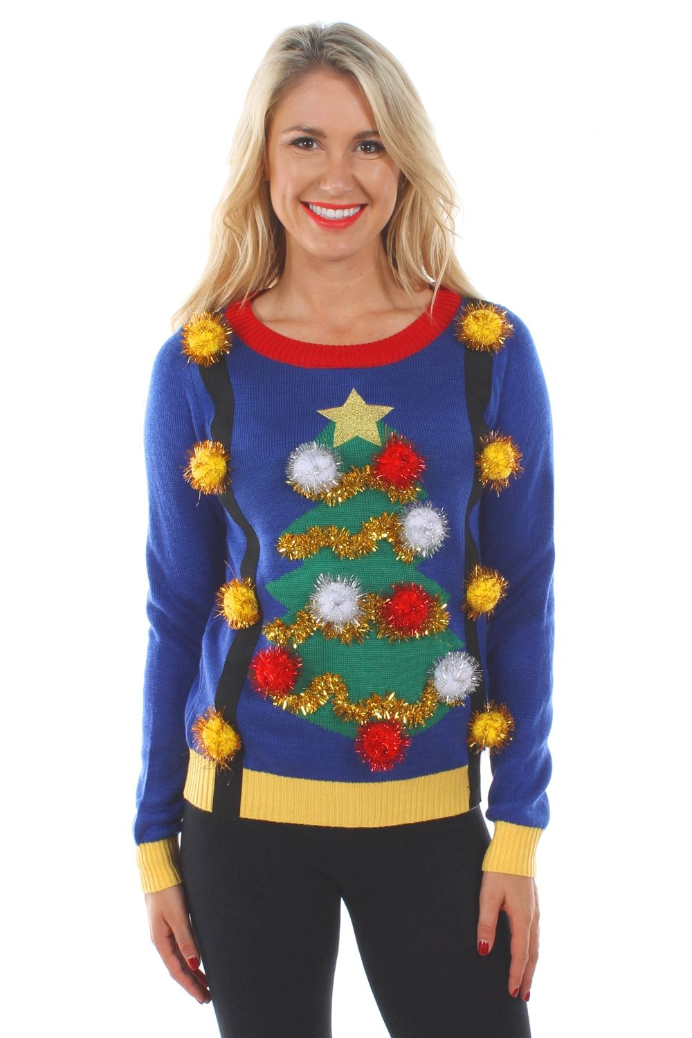 sweaters cozy suspenders hipster this adorable womens christmas sweater brings the two styles together in a cuddly package of awesome - Womens Christmas Sweaters