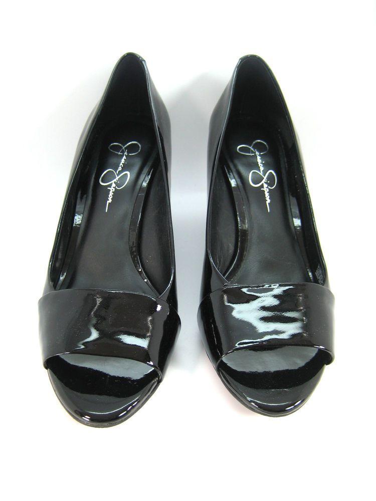 89f15031652 JESSICA SIMPSON Black Patent Leather