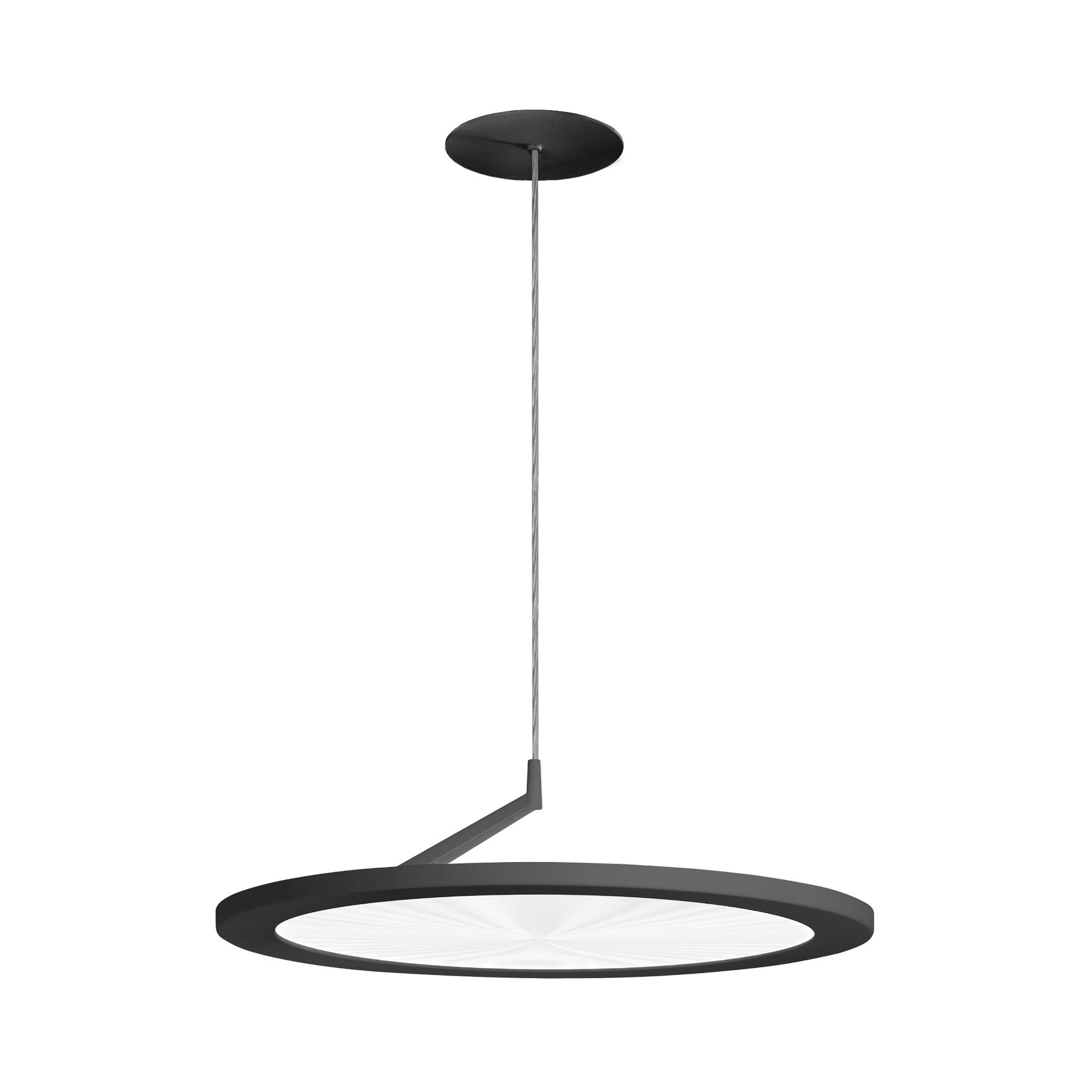 """50 Indirect Lighting Design Ideas 2018: HELIOS; 20"""" Round Flat Disc Pendant Lamp With Direct Or"""