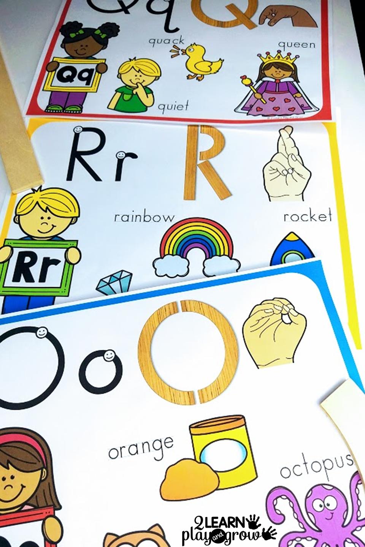 Letter Building Alphabet Cards Alphabet Wall Cards Alphabet Wall Alphabet Cards [ 1440 x 960 Pixel ]