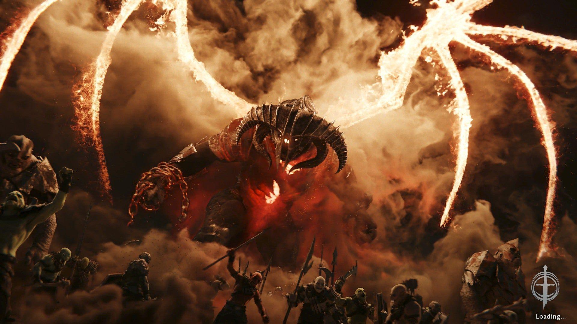 Balrog Balrog Shadow Of Mordor Dark Lord