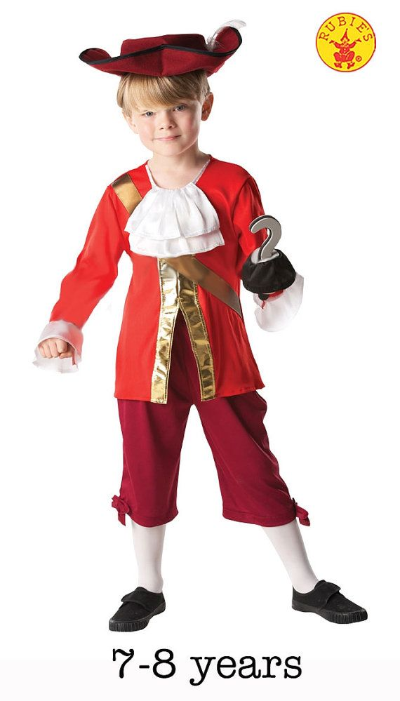 Peter Pan Captain Hook Costume For Boys by LastFinishingTouch ...