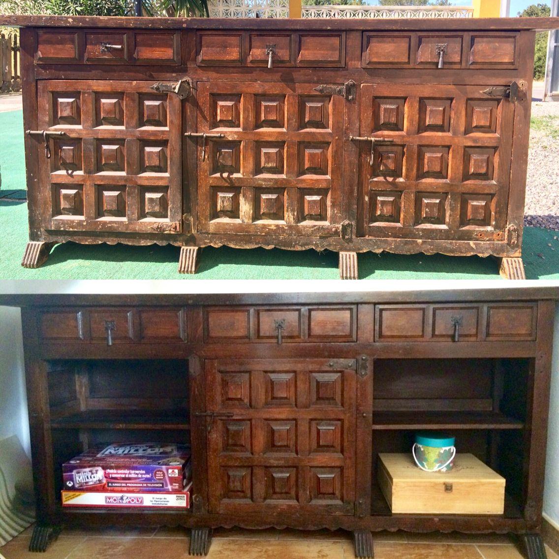 Restauración mueble antiguo