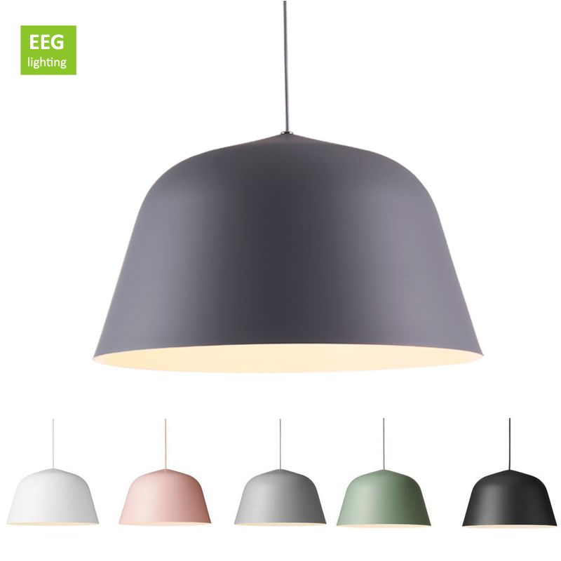 Nordic pendant lights aluminum lampshade industrial lighting loft nordic pendant lights aluminum lampshade industrial lighting loft lamparas colorful pendant lamp e27 base light fixtures aloadofball Choice Image