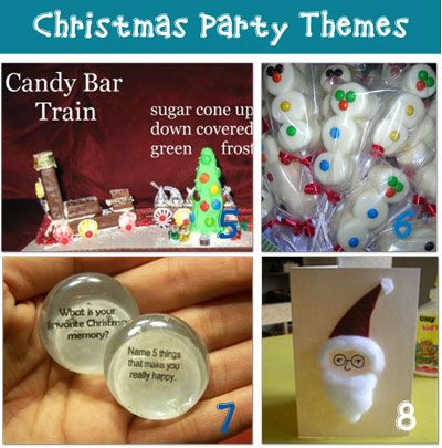 Christmas party Theme ideas... conversation pebbles,breakfast with ...