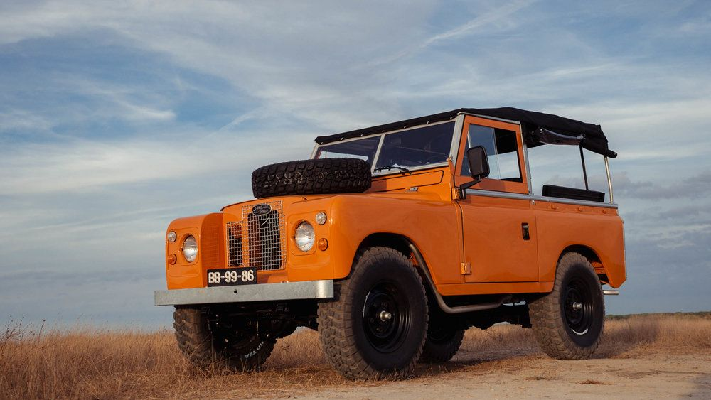 Cool N Vintage Land Rover Series 2a Land Rover Defender Land