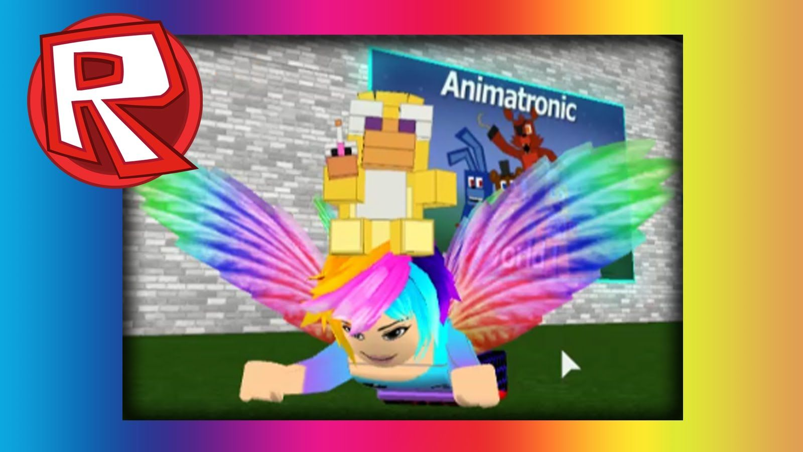 Animatronic World In Roblox Sister Location Five Nights At
